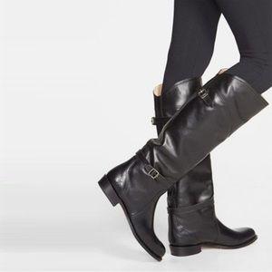 Frye dorado black riding boots 6.5 NWT